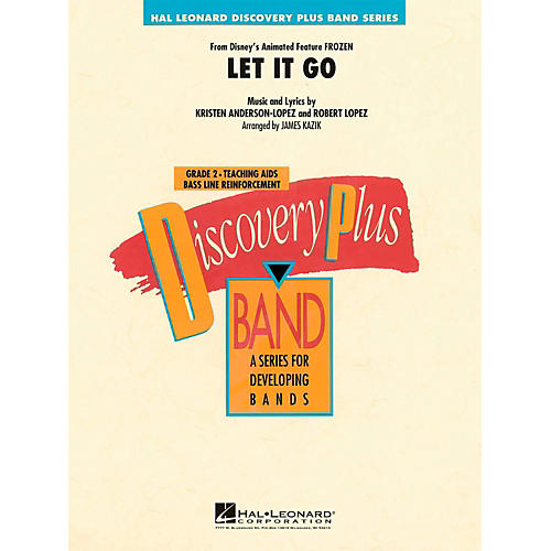 Hal Leonard Let It Go (From Frozen) Discovery Plus Concert Band Grade 2-thumbnail