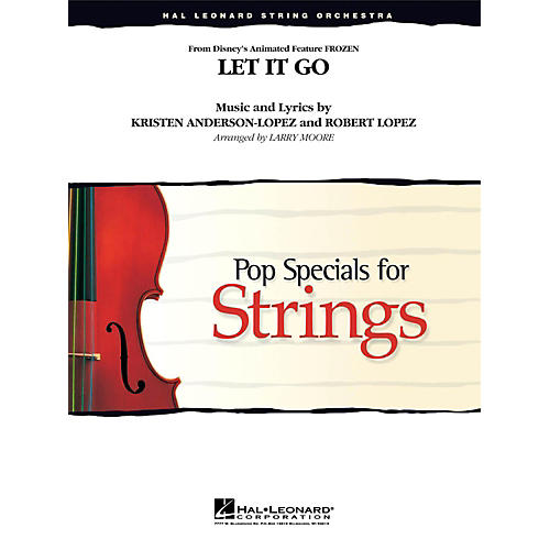 Hal Leonard Let It Go (From Frozen ) for String Orchestra Level 3 - 4-thumbnail