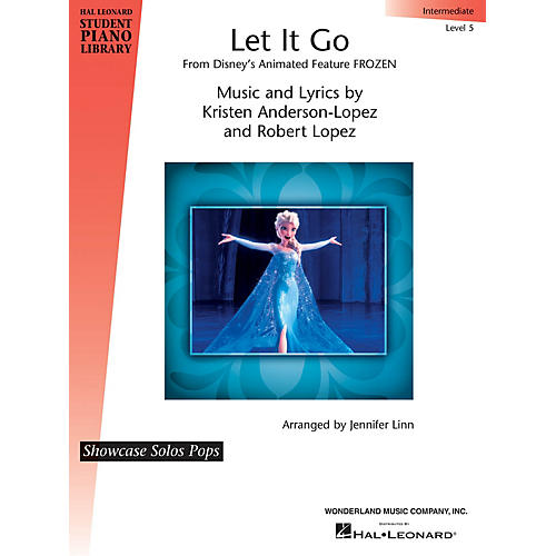 Hal Leonard Let It Go (from Frozen) Piano Library Series by Robert Lopez (Level Inter)