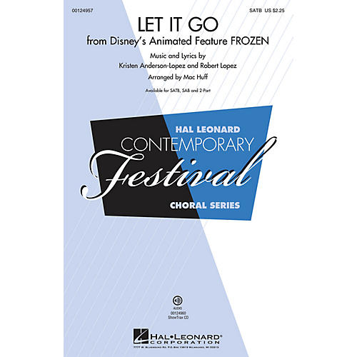 Hal Leonard Let It Go (from Frozen) (from Frozen) SSA Arranged by Mac Huff