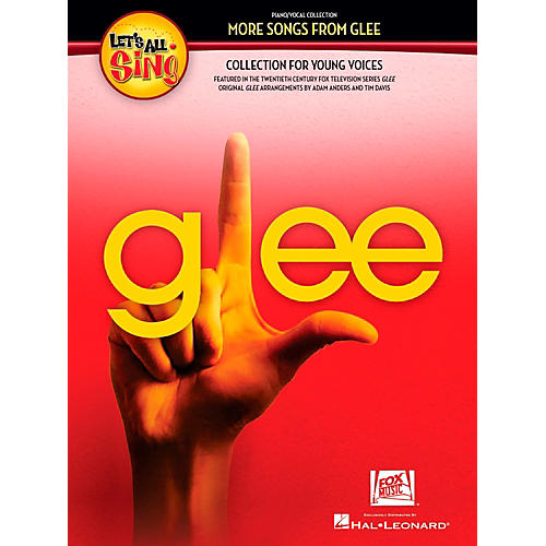 Hal Leonard Let's All Sing More Songs From Glee Collection for Young Voices Performance/Accompaniment CD-thumbnail