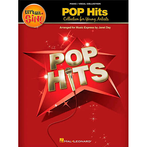 Hal Leonard Let's All Sing Pop Hits - Collection for Young Voices Piano Vocal Collection-thumbnail