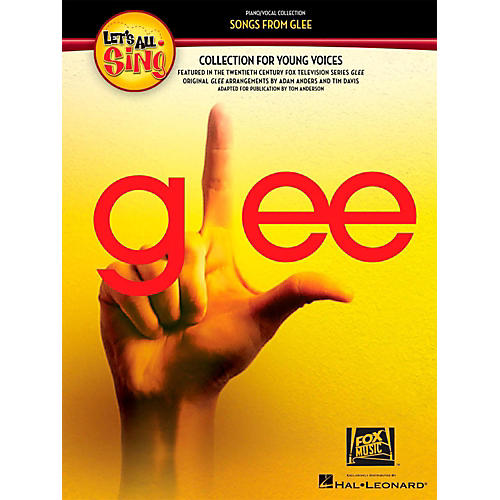 Hal Leonard Let's All Sing Songs From Glee - A Collection for Young Voices CD-thumbnail