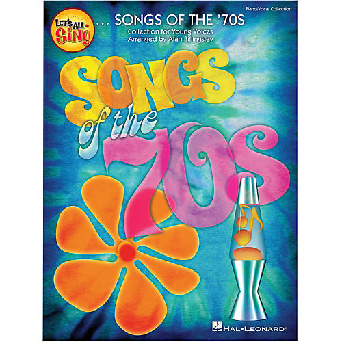 Hal Leonard Let's All Sing Songs Of The '70s Singer Edition 10-Pak-thumbnail