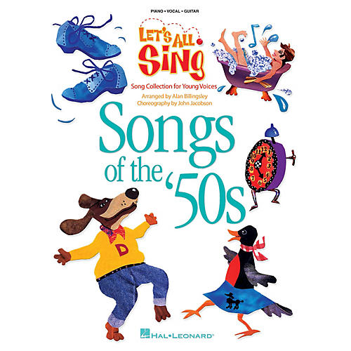 Hal Leonard Let's All Sing Songs of the '50s (Song Collection for Young Voices) Singer's Ed by Alan Billingsley
