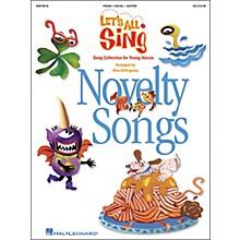 Hal Leonard Let's All Sing...Novelty Songs