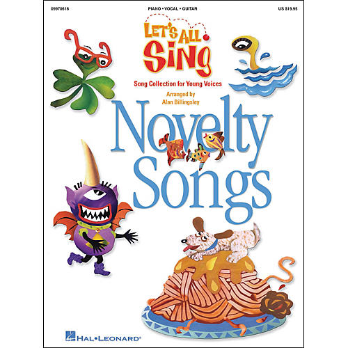 Hal Leonard Let's All Sing...Novelty Songs-thumbnail