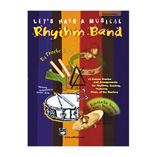 Alfred Let's Have Music Rhythm Book and CD