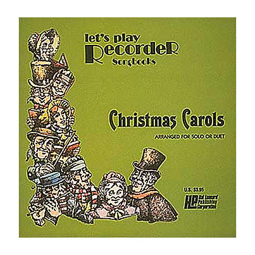 Hal Leonard Let's Play Recorder- Christmas Carols Book
