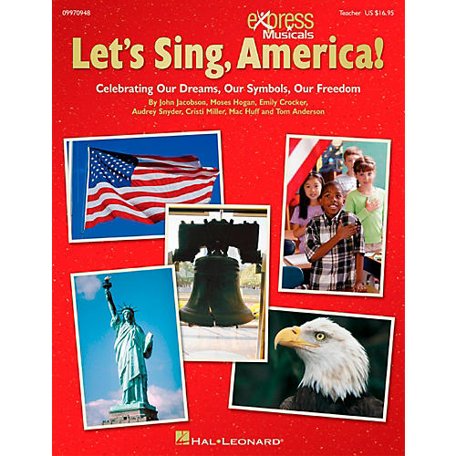 Hal Leonard Let's Sing America!  Celebrating Our Dreams, Our Symbols, Our Freedom Classroom Kit-thumbnail