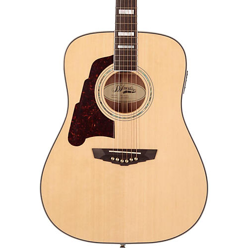 D'Angelico Lexington Dreadnought Left-Handed Acoustic-Electric Guitar