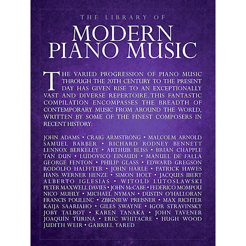 Music Sales Library Of Modern Piano Music - Piano Solo-thumbnail