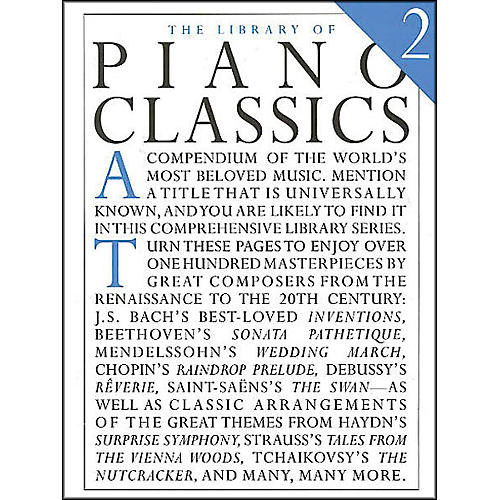 Music Sales Library Of Piano Classics 2 By Appleby-thumbnail