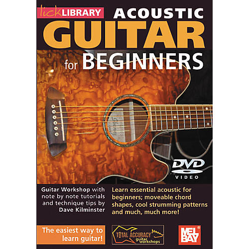 Hal Leonard Lick Library Acoustic Guitar for Beginners DVD