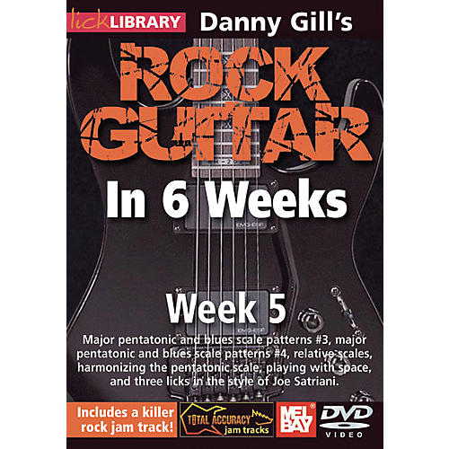 Mel Bay Lick Library Danny Gill's Rock Guitar in 6 Weeks DVD Guitar Course-thumbnail