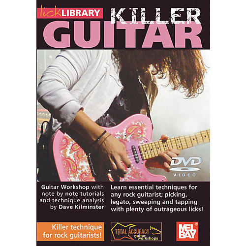 Mel Bay Lick Library Killer Guitar - Killer Technique for Rock Guitarists