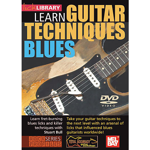Mel Bay Lick Library Learn Guitar Techniques: Blues DVD-thumbnail