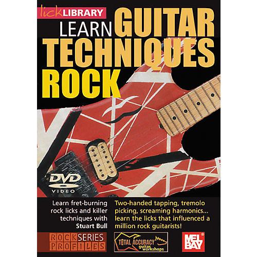 Mel Bay Lick Library Learn Guitar Techniques: Rock DVD-thumbnail