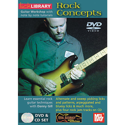 Mel Bay Lick Library Rock Concepts DVD and CD Set-thumbnail