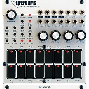 Pittsburgh Modular Synthesizers Lifeforms Percussion Sequencer by Pittsburgh Modular Synthesizers