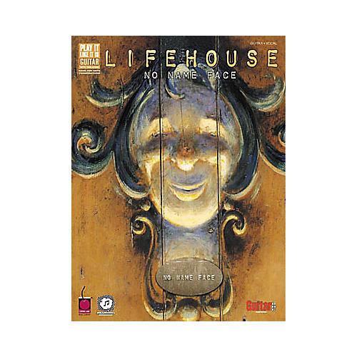 Cherry Lane Lifehouse No Name Face Guitar Tab Songbook