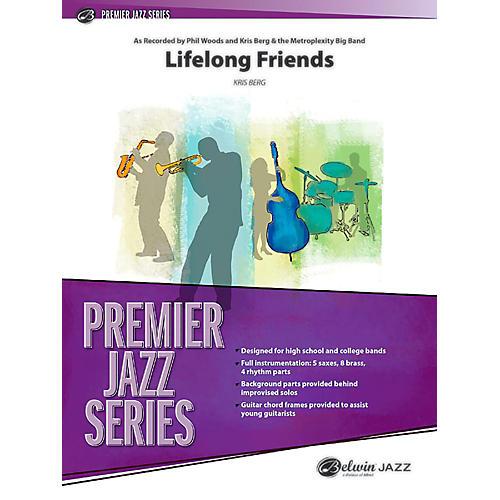 BELWIN Lifelong Friends Jazz Ensemble Grade 4 (Medium Advanced / Difficult)-thumbnail