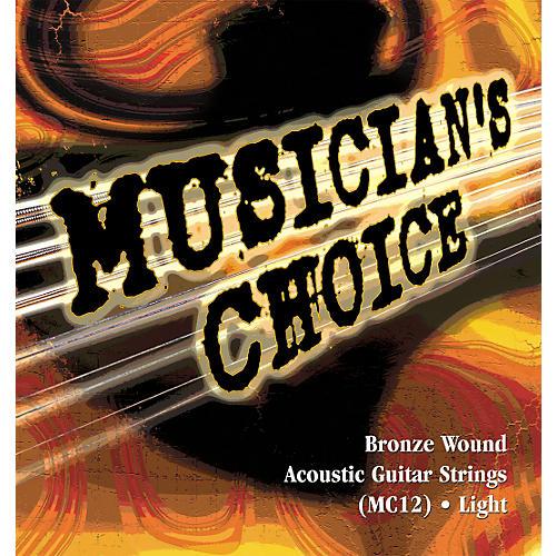 Musician's Choice Light Acoustic Guitar Strings