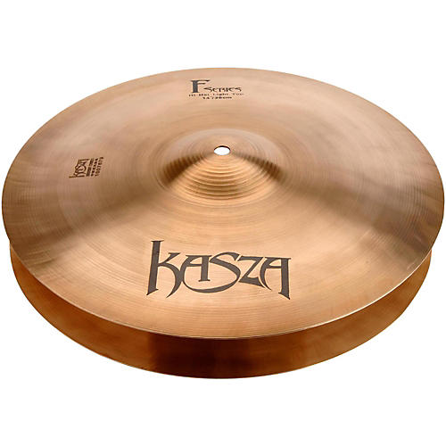 Kasza Cymbals Light Top/Medium Bottom Fusion Hi-hat Cymbals 14 in.