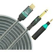 LightSnake LightSnake Guitar/Keyboard USB 10ft Cable