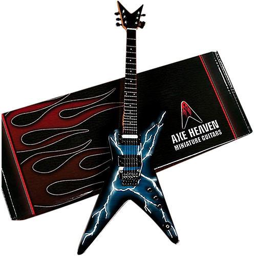 Axe Heaven Lightning Bolt Signature Model Miniature Guitar Replica Collectible