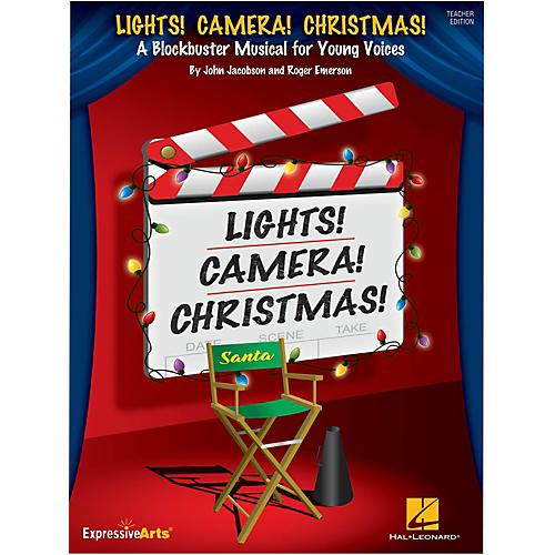 Hal Leonard Lights! Camera! Christmas! Performance/Accompaniment CD