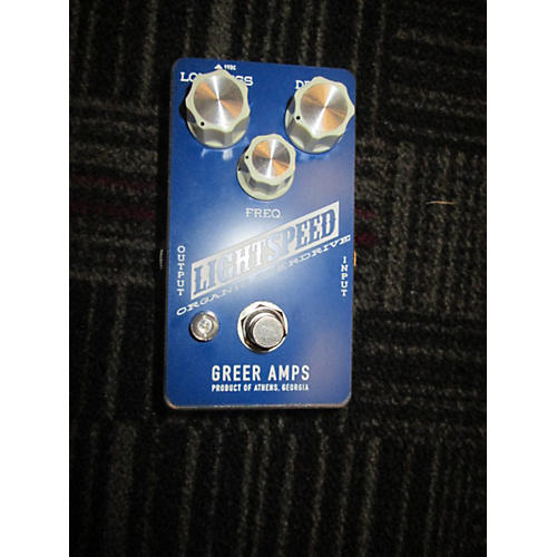 Greer Amplification Lightspeed Organic Overdrive Effect Pedal-thumbnail