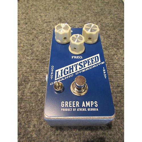 Greer Amplification Lightspeed Organic Overdrive Effect Pedal-thumbnail