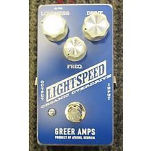 Greer Amplification Lightspeed Organic Overdrive Effect Pedal