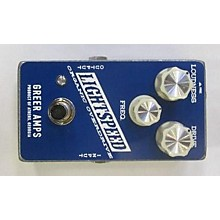 Greer Amplification Lightspeed Organic Overdrive Effect Pedal