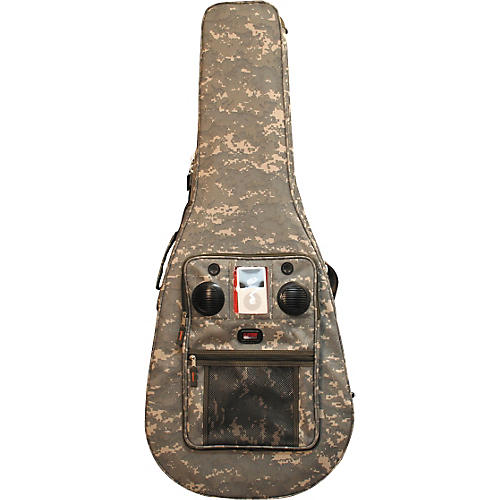 Gator Lightweight Dreadnought Guitar/iPod Case with Speakers-thumbnail