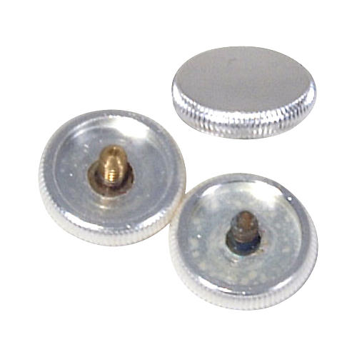 Sound Sleeve Lightweight Finger Buttons Silver Plate - Fits Bach-thumbnail