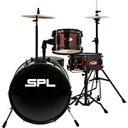 Lil Kicker - 3 Piece Jr Drum Set with Throne Wine Red
