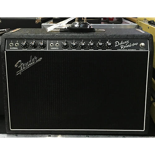 Fender Limited 1965 Deluxe Reverb 22w Tube Guitar Combo Amp-thumbnail