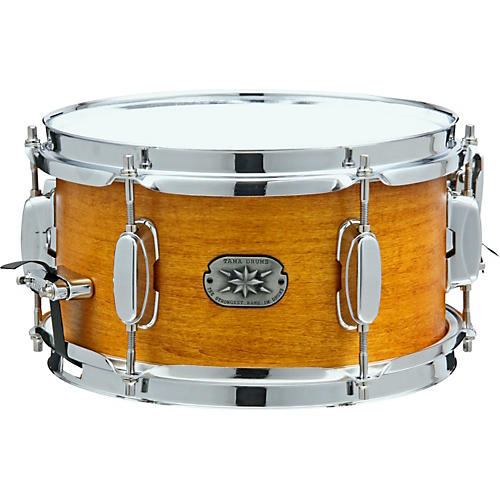 Tama Limited Birch/Basswood Snare Drum w/Clamp 10 x 5.5 in. Satin Amber