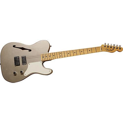 Fender Custom Shop Limited Cabronita Road Show Thinline Telecaster Electric Guitar Shoreline Gold