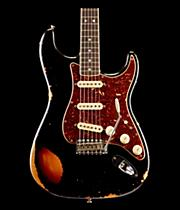 Fender Custom Shop Limited Edition '60s Heavy Relic Bound Neck Stratocaster Electric Guitar