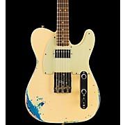 Fender Custom Shop Limited Edition '60s Telecaster HS - Aged White over Blue Flower