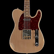 Fender Custom Shop Limited Edition '63 Telecaster Relic Electric Guitar Shoreline Gold