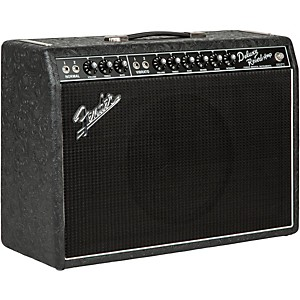 Fender Limited Edition '65 Deluxe Reverb 22W Tube Guitar Combo Amp Black We...