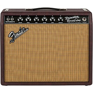 Fender Limited Edition '65 Princeton Reverb 15 Watt 1x12 Tube Guitar Combo Amp ...