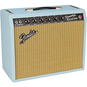 Fender Limited Edition '65 Princeton Reverb Sonic Gold 12W 1x12 Tube Guitar... by Fender