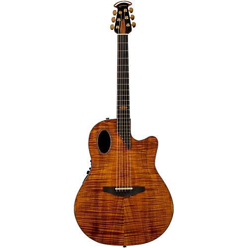 Ovation Limited Edition AAAAA Koa Elite Deep Cutaway Acoustic-Electric Guitar