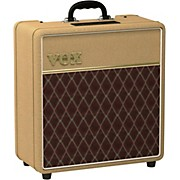 Limited Edition AC4 4W 1x12 Tube Guitar Combo Amp Tan