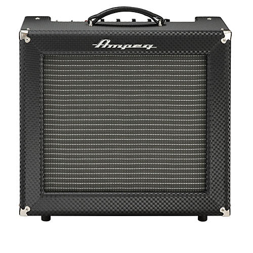 Ampeg Limited Edition All-Tube Heritage R-12R 30W Guitar Combo Amp Black Diamond Tolex-thumbnail